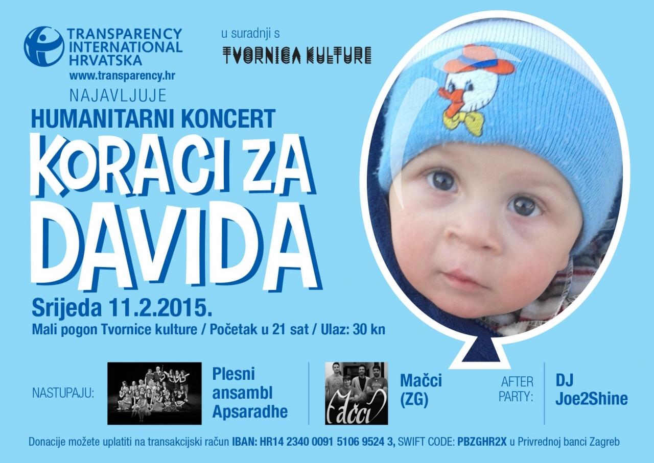 Steps for David - Charity Concert of Volunteers TIC